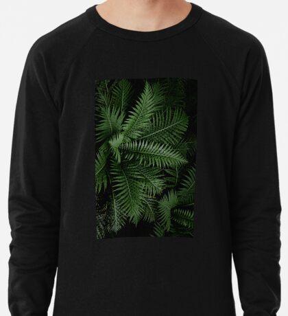 Tropische Blätter 02 Leichter Pullover