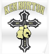 Box Champion Ken Norton Poster