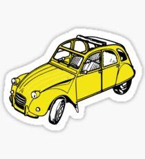 citroen 2 cv  Sticker