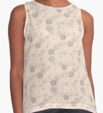 Dusty Pink Florals Contrast Tank