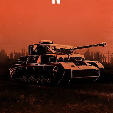 Panzerkampfwagen IV - Stylized (Design & Art: Nuclear Jackal) by mhvis