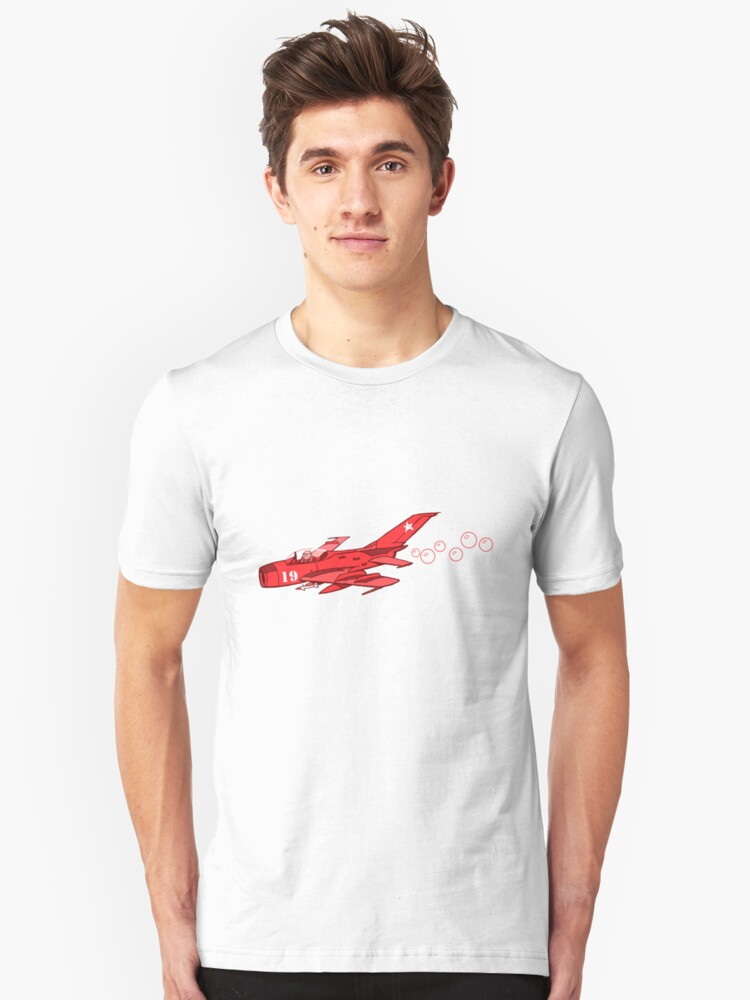 little red mig 19 Unisex T-Shirt Front