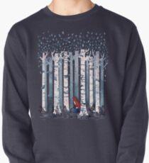 Die Birken (in Blau) Sweatshirt