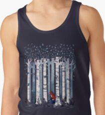 The Birches (in Blue) Men's Tank Top