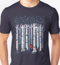 The Birches (in Blue) Unisex T-Shirt
