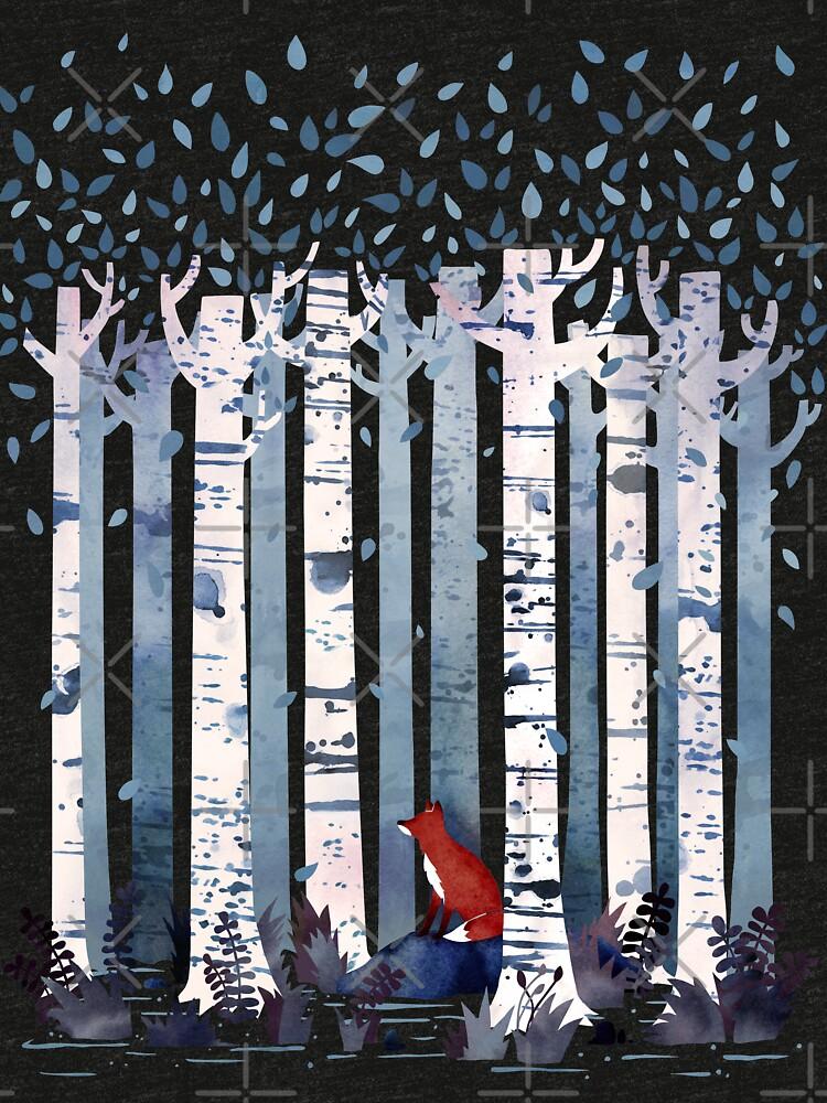 Die Birken (in Blau) von littleclyde