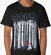 The Birches (in Blue) Long T-Shirt
