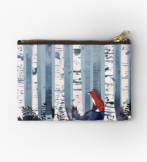 The Birches (in Blue) Studio Pouch