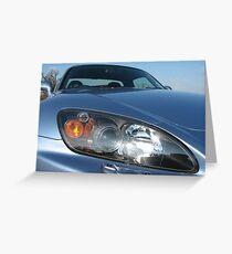 S2000 headlights Greeting Card