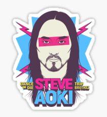 Steve Aoki - chef - fan art Sticker