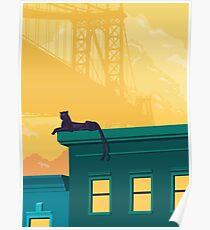 Urban jaguar Poster