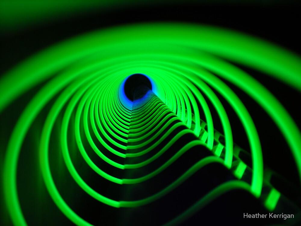 Green Vortex by Heather Brink