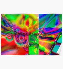 fuxart fractal five Poster