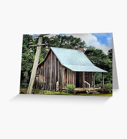 The Old Country Cottage Greeting Card
