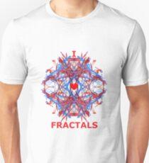 I Love Fractals Tee Unisex T-Shirt