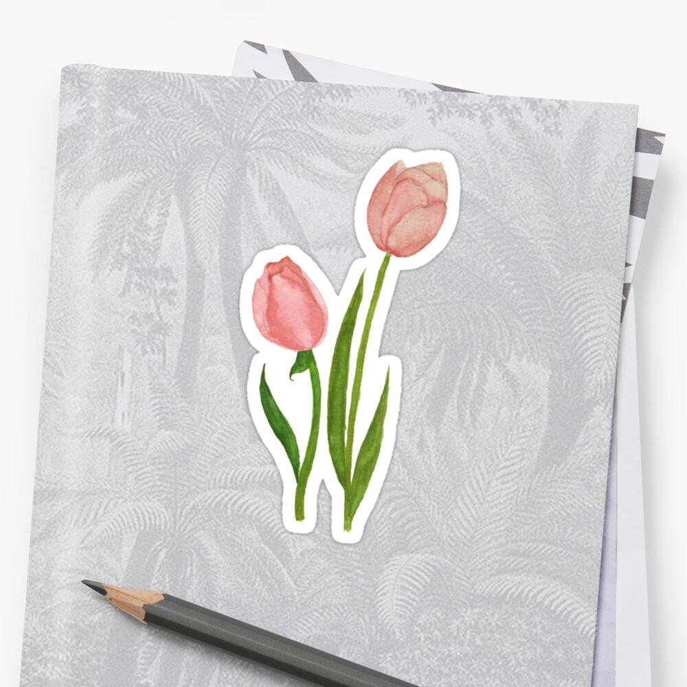 Zu kleine Tulpen Sticker