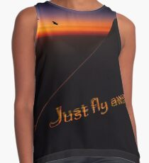 Just Fly Away Contrast Tank