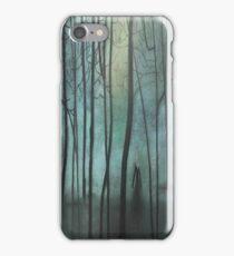 Slender Man Fan Art iPhone Case/Skin