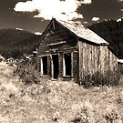 Montana Ghost Town by Tim Denny