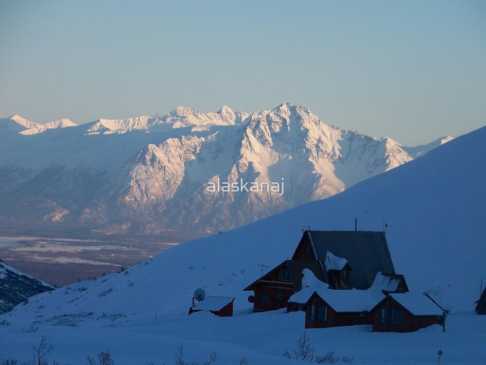 Quiet home in the Alaskan Mountains by alaskanaj