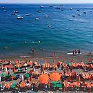 Summer in Positano by Christine  Wilson