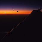Horizon Sunset. by Jon Delorme