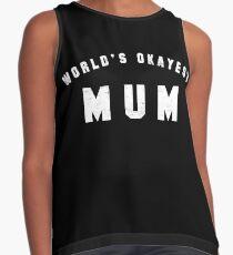 World's Okayest Mum Contrast Tank