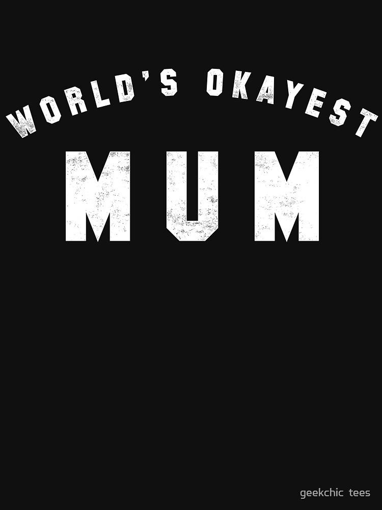 Die beste Mutter der Welt von geekchic
