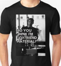 Lucifer quote - boyfriend material Unisex T-Shirt