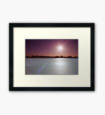 Lake Magic Sunrise I Framed Print