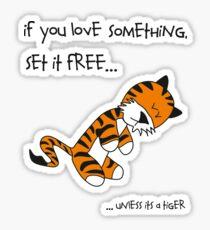 Tiger-Philsosophy Sticker