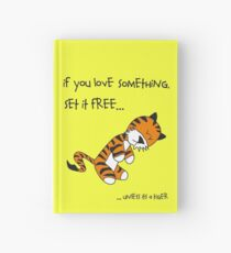 Tiger-Philsosophy Hardcover Journal