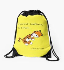 Tiger-Philsosophy Drawstring Bag