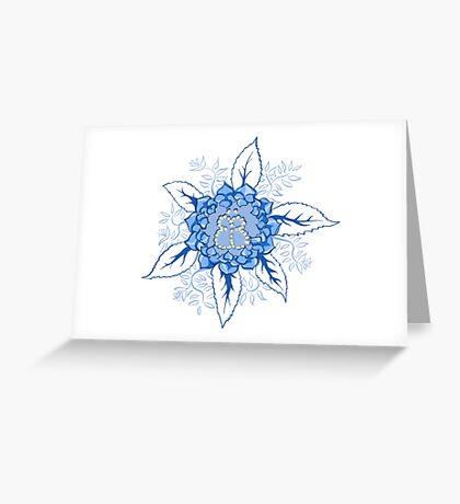 Butterflyflower Grußkarte