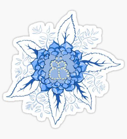 Butterflyflower Sticker
