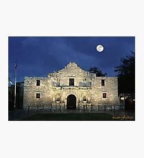 Remembering The Alamo Photographic Print