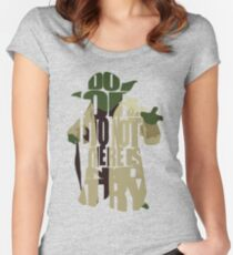 Yoda Women's Fitted Scoop T-Shirt