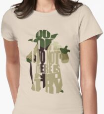 Yoda Womens Fitted T-Shirt