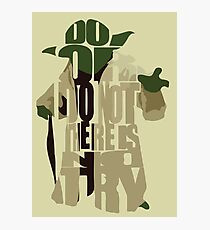 Yoda Photographic Print