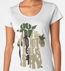 Yoda Women's Premium T-Shirt