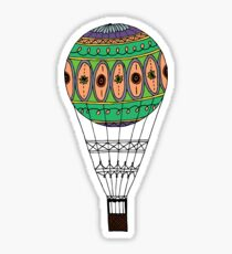 Hot Air Balloon Sticker