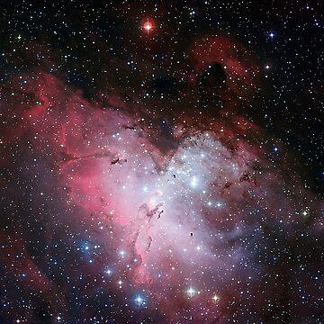 Eagle Nebula by MarianaEwa