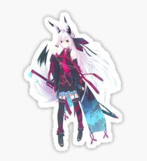 Anime Fox warrior! Sticker
