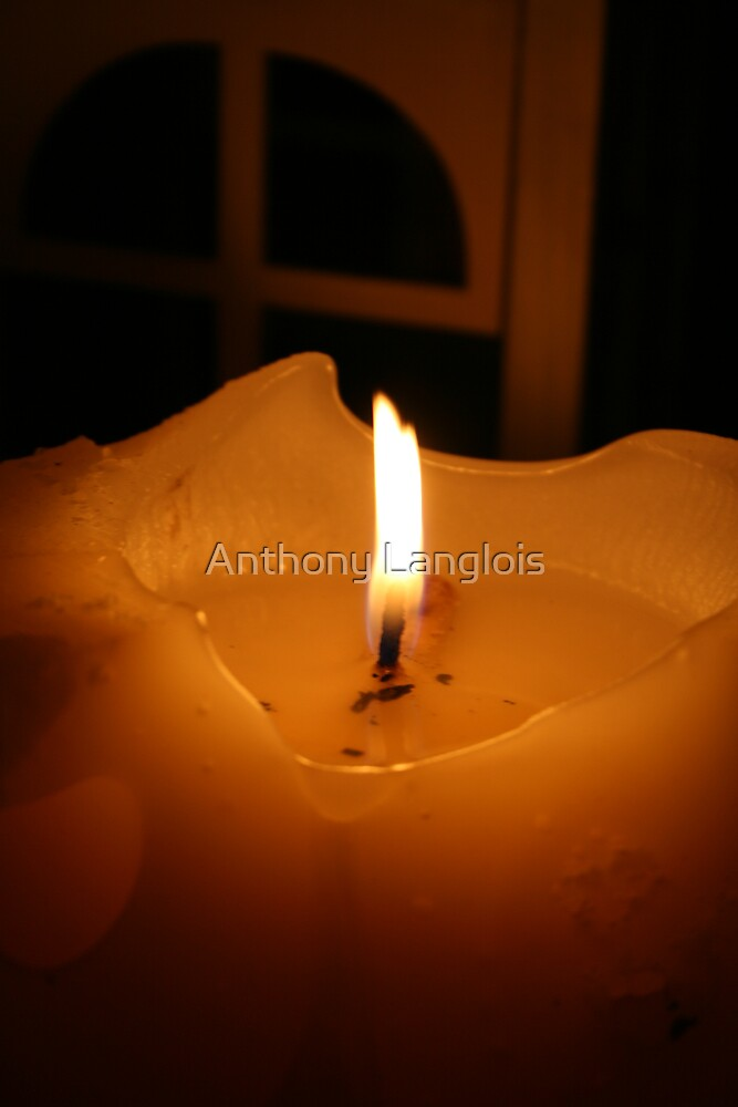 candle... by Anthony Langlois