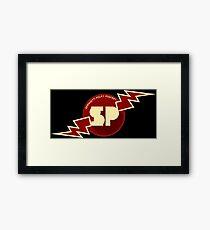 Spaghetti Policy Podcast! Framed Print