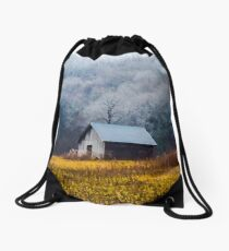 Country Barn meets Jack Frost Drawstring Bag