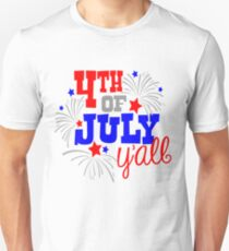 4th Of July Y'all T-Shirt