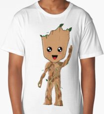 Kawaii Baby Groot Long T-Shirt