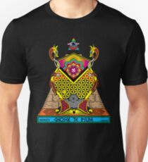 Knowledge Keeper - Psychedelic Black T-Shirt