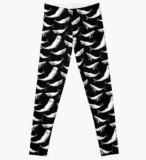 Whales in black Leggings